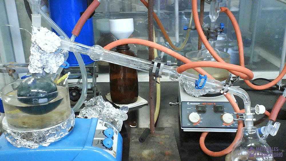 Matraz de destilación